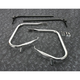 Chrome Saddlebag Guards/Support Kit - 3501-1243