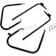 Gloss Black Saddlebag Guards/Support Kit - 3501-1244