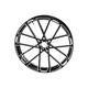 Black Front 18x3.50 Procross Forged Billet Wheel - 10101-202
