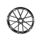 Black Front 21x3.50 Procross Forged Billet Wheel - 10101-204