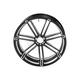 Black 7 Valve 18x3.50 in. Rear Forged Billet Wheel  - 10301-202