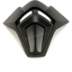 Black Mouth Piece for Octane X Helmets - 191752-1000-00