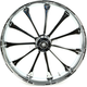 Front 23 in. x 3.75 in. One-Piece Exile Forged Aluminum Wheel w/ABS - 233759031A14122