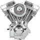 Natural/Chrome V111 Complete Assembled Engine - 106-5703