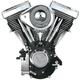 Wrinkle Black V80 Complete Assembled Engine - 310-0238