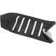Black/White Gripper Ribbed Seat Cover for Polaris IQ Racer 600 - 0821-2895