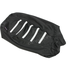 Black/White Gripper Ribbed Seat Cover - 0821-2896