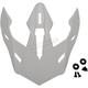 White Range Helmet Visor - 0133-1117