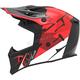 M90 Red Tactical Offroad Open Box Helmet