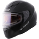 Black Stream Helmet w/Electric and Single Lens Shields