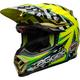 Green/Blue/Pink Moto-9 Flex Tagger Mayhem Helmet