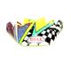 Green/Blue/Pink Visor for Moto-9 Flex Tagger Mayhem Helmets - 7098915