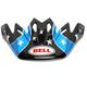 Black/Blue/Red/White Visor for Moto-9 Mips Tomac Replica 19 Eagle Helmets - 7098913