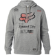Heather Gray/Black Backdrafter Pullover Hoody