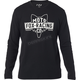 Black Flathead Thermal Long Sleeve Shirt