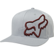 Gray/Red Clouded Flexfit Hat