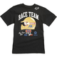 Youth Black Speedway SS T-Shirt