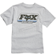 Youth Gray/Blue Throwback SS T-Shirt