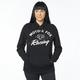 Women's Black Enforced Pullover Hoody