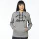 Women's Heather Graphite Enforced Pullover Hoody
