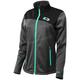 Women's Heather Gray/Mint Fusion G2 Mid-Layer Jacket