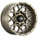 Bronze 14x7 Hurricane Wheel - 1428636729B