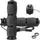 Black Anodized Air Cushioned Heated Grips - MT-AIR-90-AN-HT
