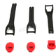 Youth Red Blitz XP Boot Strap Kit - 3430-0879