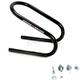 Black 6.5 in. Wheel Chock - 3911-0053