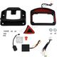 Black Eliminator Taillights - CV4849B