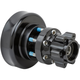 Black Rear Forged Billet Hub - 17-7507-B