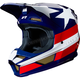 White/Red/Blue V1 Regl Special Edition Helmet