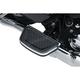 Chrome Hex Passenger Floorboard Inserts - 5902