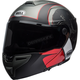 Matte Charcoal/White/Red SRT Hart-Luck Skull Helmet - 7092325