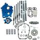 Gear Drive 465G Cam Chest Kit w/Black Pushrod Tubes for Oil Cooled Models - 310-1013