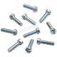 Zinc-Plated Slotted Flat Head Screws - 50-0146