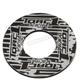 Black/Gray Grip Donut - 8110-0207
