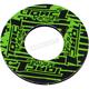 Black/Green Grip Donut - 8110-0208
