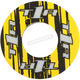 Yellow/Black Grip Donut V2 - 8111-0602