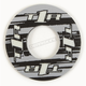Gray/Black Grip Donut V2 - 8111-0702