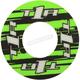 Green/Black Grip Donut V2 - 8111-0802