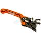 Black/Orange Vengeance Flex Front Brake Lever - 6815-0205