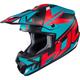 Semi-Flat Blue/Red/Black CS-MX 2 Madax MC-21SF Helmet
