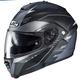 Semi-Flat Black/Gray IS-Max II Cormi MC-5SF Helmet
