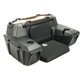 Black ATV Trunk and Lounger - 4457