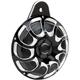 Black Drift Billet Horn Kit  - 70-252