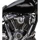 Chrome Velocity 65 Degree Air Cleaner Kit - 81-201