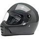 Gloss Storm Gray Lane Splitter Helmet