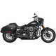 Black 2-Into-1 Turnout Exhaust System - HD00812