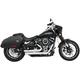 Chrome Amendment Slash-Out Exhaust System - HD00737